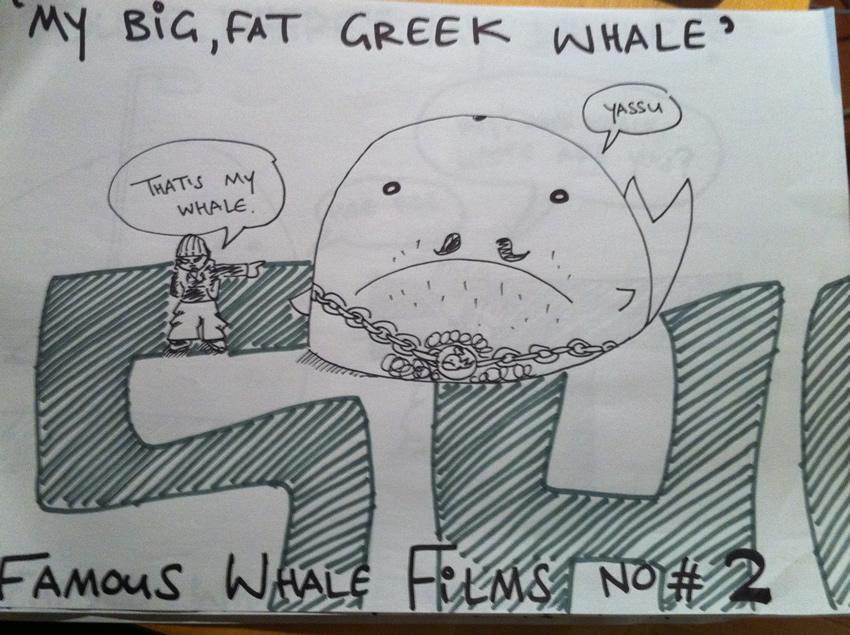 My Big, Fat, Greek Whale
