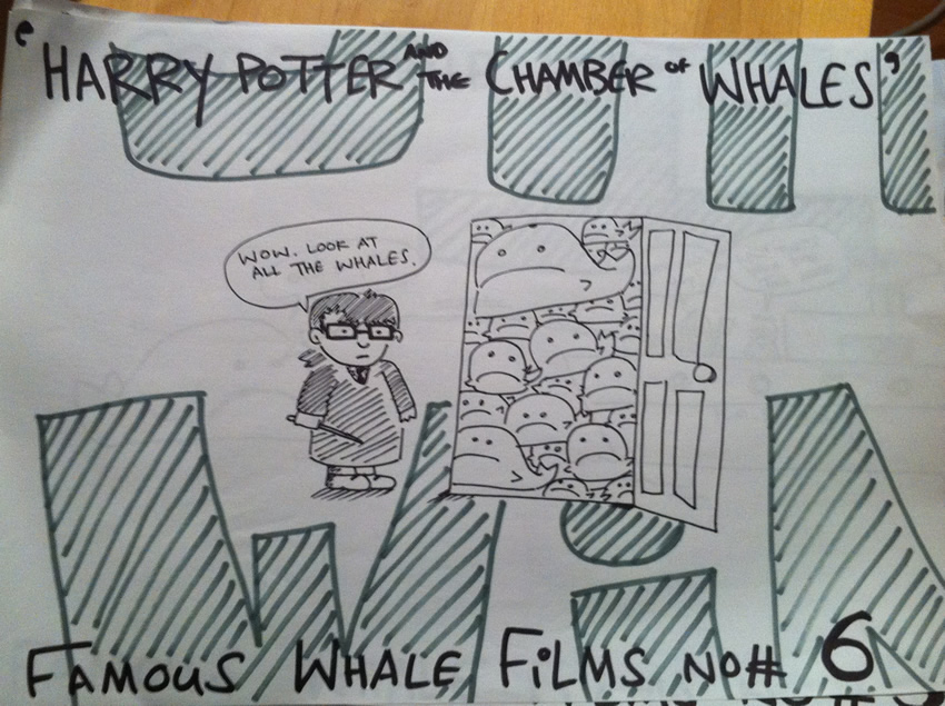 Harry Potter & The Chamber of Whales