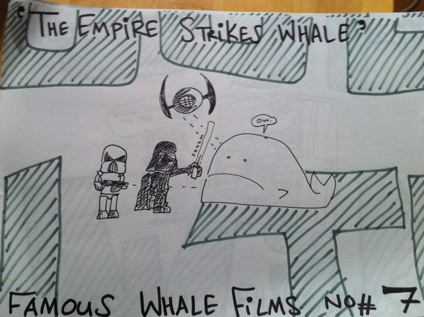 The Empire Strikes Whales
