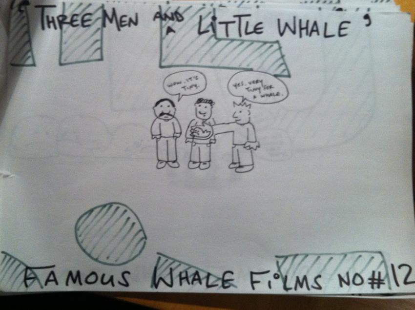 Three Men & A Little Whale