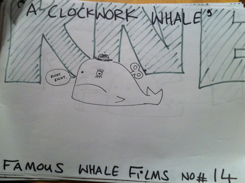 A Clockwork Whale