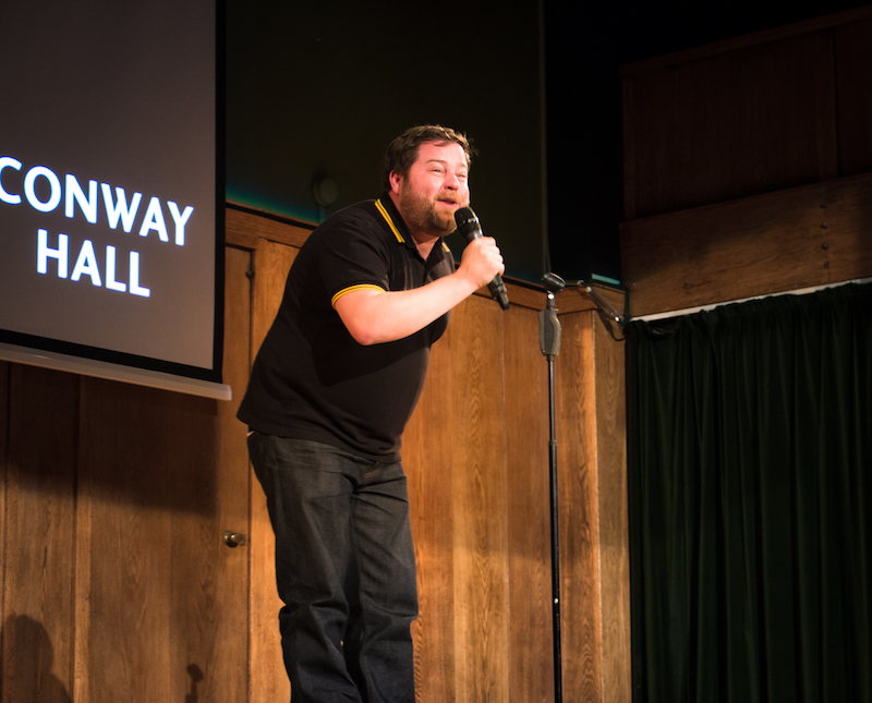 Tiernan at Conway Hall